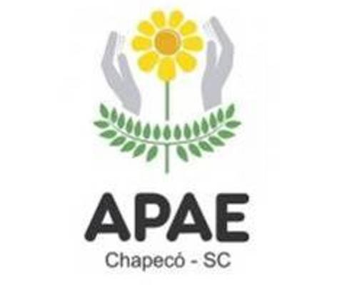 Foto de Doação do sistema fotovoltaico para APAE Chapecó/SC.